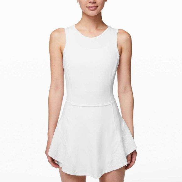 lululemon athletica Dresses & Skirts - NWT Lululemon Serene Stride Dress in White